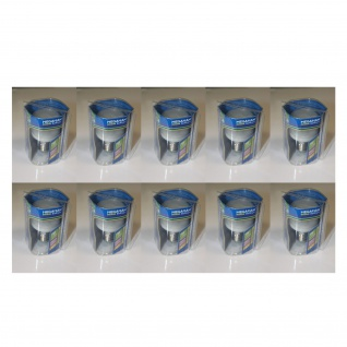 10 x Megaman Energiesparlampe Sparlampe Softlight E27 7W flach 2700K MM04012i