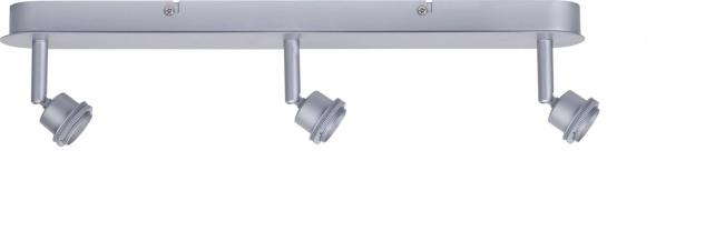 Paulmann 665.40 Spotlights DecoSystems Balken 3x3W Chrom matt 230V/12V Metall
