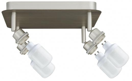 Paulmann 600.64 Spotlights DecoSystems Rondell 4x9W GU10 Nickel matt 230V Metall