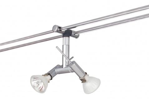 972.18 Paulmann 12V Einzelteile Rail System Light&Easy Spice Spot Ginger 2x20W GU4 Chrom matt 12V Metall