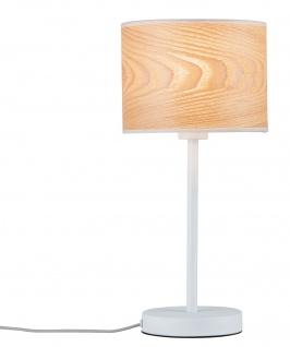Paulmann Neordic Neta Tischleuchte max.1x20W E27 Holz/Weiß 230V Holz/Metall