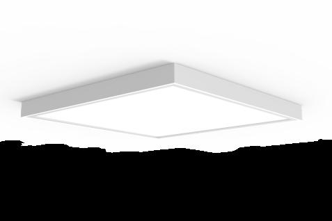 LED Panel 36W 5000K Tageslicht 4300lm Weiß erstzt 430W Licht inkl Aufbaurahmen, Aufputz Aufbauleuchten High Lumen