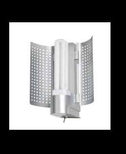 Paulmann WallCeiling DS Modern Basis WL Reflektor max.18W G24d2 Chrom matt 230V Kunststoff/Metall