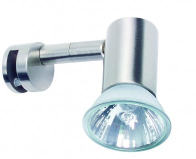 Paulmann 990.82 Mirror Simplo Spiegelleuchte 1x50W GU10 Eisen gebürstet 230V Metall