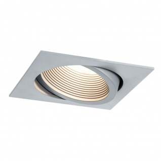 Paulmann Premium EBL Helia 998.82 eckig schwb LED 2700K 13W 1, 4A 115x115mm Weißalu Alu Acryl