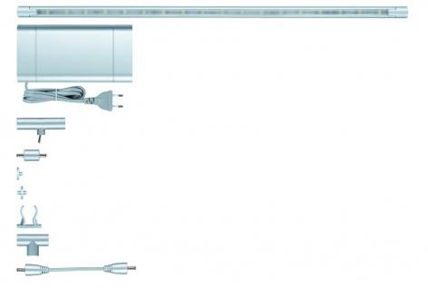 Paulmann Function ModuLED Basis-Set 3x40cm 3x1, 8W LED Chrom matt 230V/12V Alu