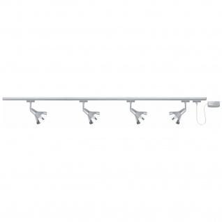 600.93 Paulmann Deckenleuchten Spotlights DecoSystems Rondel 4x9W GZ10 Chrom 230