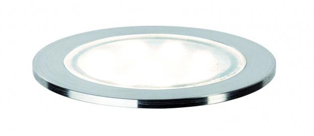 Paulmann Spec Einbauleuchte Set Allround rund IP67 LED 4000K 3x0, 7W 3, 6VA 230/12V 45mm transparent/Kunststoff/Edelstahl
