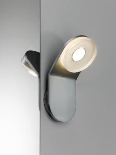 Paulmann 704.75 WallCeiling rund Tucana WL IP44 LED 1x4, 5W Alu eloxiert/Klar 230V Metall/Acryl