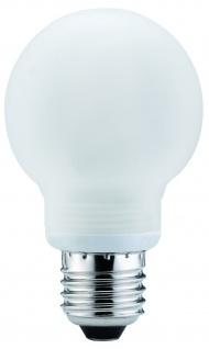 Paulmann Energiesparlampe Globe 60 7W E27 Satin