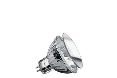 Paulmann Security Halogen Reflektorl Schutzgl. FMW flood 38° 35W GU5, 3 12V 51mm Silber