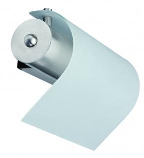 701.02 Paulmann Wandleuchten WallCeiling Flexor WL 9W E14 235x120mm Nickel matt/Weiß 230V Metall/Glas