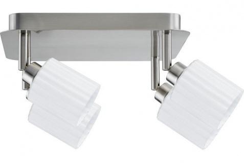 16W LED Deckenlampe Deckenleuchte 4x4W Leuchtmittel Edelstahl Zylino 4x400 Lumen