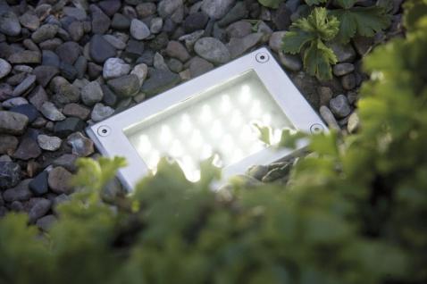 Paulmann Special Einbauleuchte Set Boden LED 3W 230V 165x103mm Edelstahl/Metall - Vorschau 4