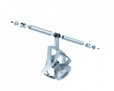 Paulmann 940.52 Seil- und Schienensystem CombiEasy Spot Mac² LED 1x1W GU5, 3 Chrom matt 12V Metall/Kunststoff
