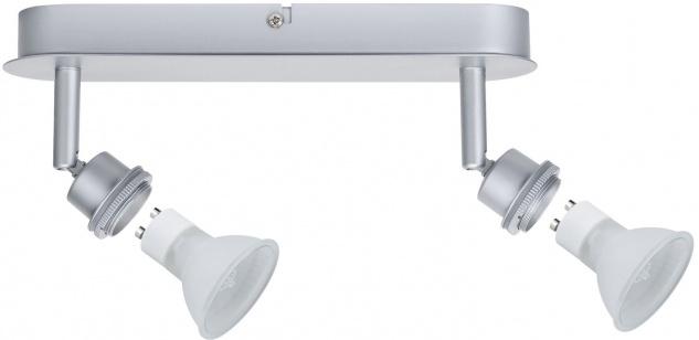 Paulmann Spotlights DecoSystems Balken 2x40W GZ10 Chrom matt 230V Metall