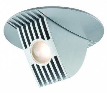 925.09 Paulmann Einbauleuchten Premium EBL Set Bow LED kippbar 65° 1x13W 230V/700mA 120mm Chrom matt/Alu