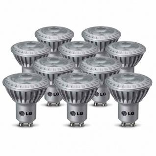 10 x LG LED GU10 4, 3W Leuchtmittel 230V P0427G24N11.10