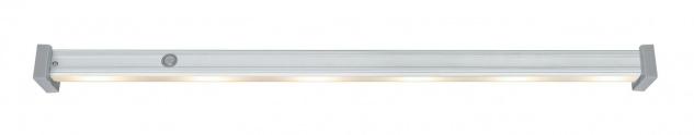 Paulmann Function DressLight Kleiderstange kürzbar IR-Sensor 60cm LED Alu 4x1, 5VAAA Alu Kunststoff