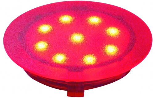 Paulmann 987.52 Special Einbauleuchte UpDownlight LED 1W 12V 45mm Rot/Kunststoff