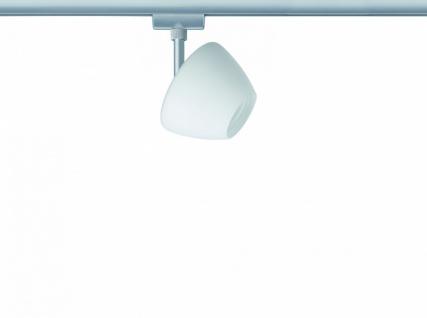 968.50 Paulmann U-Rail Einzelteile URail System Light&Easy Spot Zambaioni 1x40W GZ10 Chrom matt/Satin 230V Metall/Glas