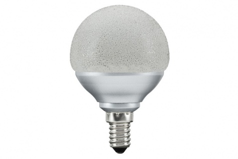 10 x Paulmann 28082.10 LED Miniglobe 60 1x2, 3W E14 Eiskristall