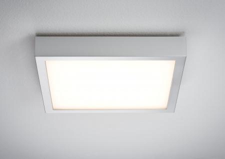 Paulmann WallCeiling Space LED-Panel 300x300mm 14, 5W 230V Chrom matt/Weiß Kunststoff 1600 Lumen
