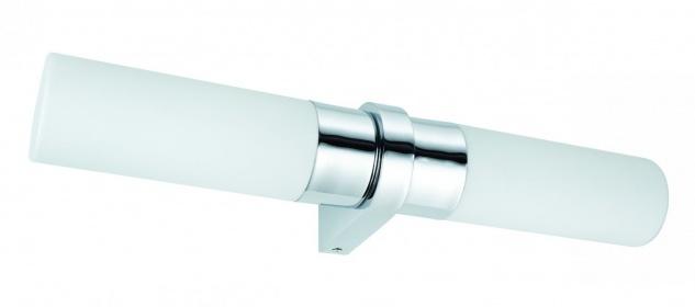 703.58 Paulmann Wandleuchten WallCeiling Saphir IP44 max.2x40W E14 Chrom/Opal 230V Metall/Glas