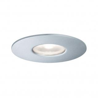 Paulmann Aussenleuchte House Einbauleuchte IP44 590lm 4000K 4, 4W 230V 34° Silber Metall Acryl