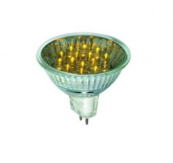 28003.10 10 Stück Paulmann 12V Fassung LED Reflektor 20° 1W GU5, 3 12V 51mm Gelb