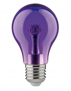 Paulmann 284.52 LED Glühlampe 1W E27 230V Violett