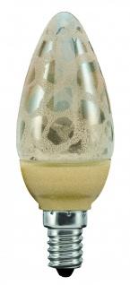 Paulmann LED Kerze 1, 4W E14 Krokoeis gold