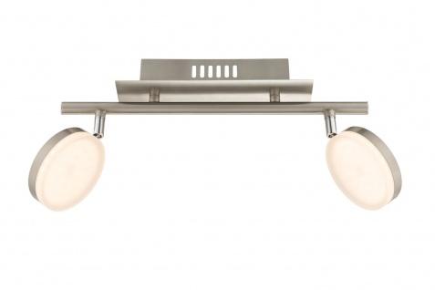 7893.02.54.0000 Wofi Deckenlampe Hook LED Deckenleuchte 2 x 8w 3.000 K 1.200 lm Chrom - Vorschau 1