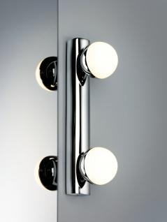 Paulmann 704.69 WallCeiling Proxima IP44 LED 2x3, 5W Chrom/Weiß 230V Metall/Kunststoff