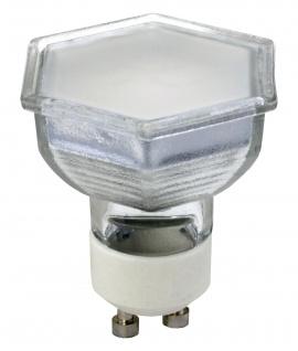 6382 Hexa LED Leuchtmittel GU10 3, 5W 230V warmweiss hexagonal