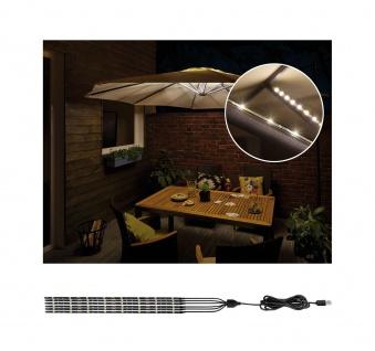 Paulmann Aussenleuchte Mobile parasol light 3000K 6x0, 27m