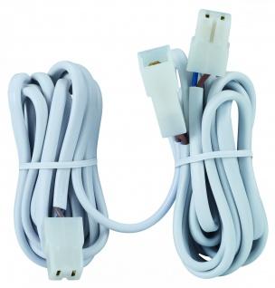 Paulmann Kabelverlängerung 2x2m 0, 75qm 2x50W Weiß 12V