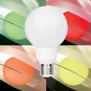 Paulmann 10x LED Globe 80 7 colors 1W E27
