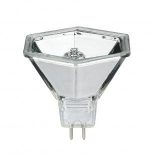 Paulmann Halogen Reflektor Hexagonal flood 60° 35W GU5, 3 12V 51mm Silber