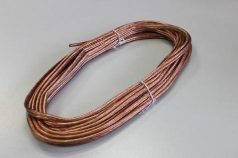 Paulmann 10m Sicherheits-Seil transparent isoliert 1, 5qmm Kupfer Seilsystem