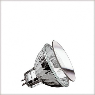 Paulmann Security Halogen Reflektorl. Schutzglas FTH flood 30° 35W GU4 12V 35mm Silber