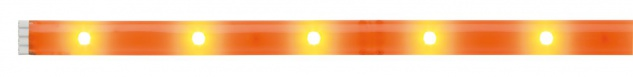 Paulmann 704.31 Function YourLED DECO Stripe Neon Orange 1m Warmweiß 2, 4W 12V DC Weiß Kunststoff