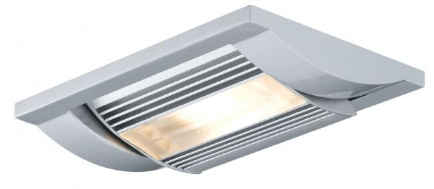 Paulmann 925.14 Premium Einbauleuchte Set Linear LED 1x13W 230V/350mA 125x87mm Chrom matt/Alu