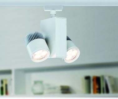 Paulmann URail Schienensystem Light&Easy Spot TecLed 2x9W Weiß 230V Metall