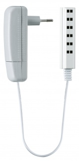 Paulmann LED Power Supply Plug 6W 230/12V DC Grau