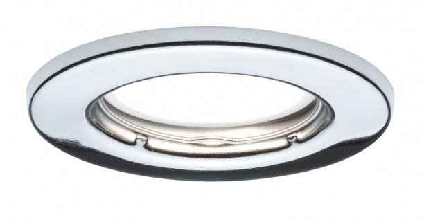 Paulmann Einbauleuchte Set LED starr 3x4, 5W 230V GU10 51mm Chrom/Metall