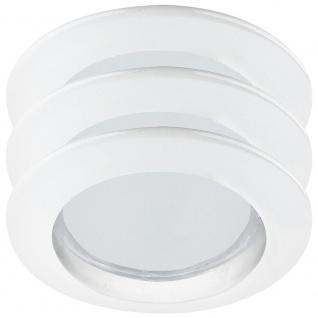 Paulmann Premium Einbauleuchte Set starr Energiesparlampe 3x11W 230V GU10 51mm Weiß/Alu Zink