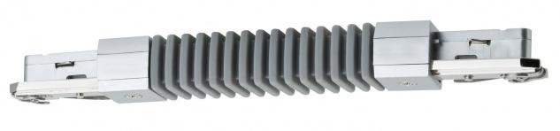 Paulmann URail Schienensystem Light&Easy Flex Verbinder 180mm Chrom matt 230V Metall - Vorschau 2