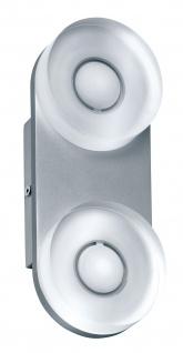 Paulmann 704.76 WallCeiling rund Tucana IP44 LED 1x9W Alu eloxiert/Klar 230V Metall/Acryl