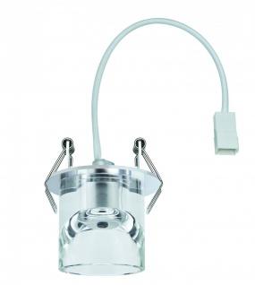 Quality EBL Glassy Tube max.20W 12V G4 Ø83mm Klar/Chrom Glas/Metall - Vorschau 3
